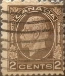 Sellos de America - Canadá -  Intercambio 0,20 usd 2 cent 1932