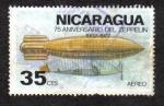 Sellos de America - Nicaragua -  Zeppelin