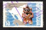 Stamps of the world : Nicaragua :  Policroma de Nicaragua