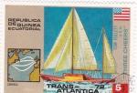 Stamps Equatorial Guinea -  TRANS-ATLANTICA 72