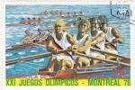 Stamps Equatorial Guinea -  XXI Juegos Olímpicos de Montreal 76