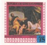 Sellos de Africa - Guinea Ecuatorial -  Veronese- Pinturas famosas