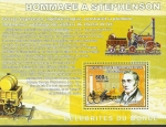 Stamps : Africa : Democratic_Republic_of_the_Congo :  Homenaje a Stephenson