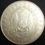 monedas del Mundo : Africa : Djibouti :  2004 (Anverso)