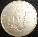 monedas del Mundo : Africa : Djibouti :  2004 (Reverso)