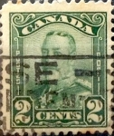 Stamps Canada -  Intercambio 0,20 usd 2 cent 1928