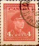 Sellos de America - Canadá -  Intercambio 0,20 usd 4 cent 1943