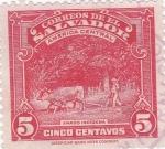 Sellos de America - El Salvador -  Arado indígena