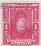 Sellos del Mundo : America : El_Salvador :  Isidro Menéndez- doctor