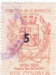 Sellos de America - El Salvador -  Escudo
