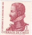 Sellos de America - Chile -  IV Centenario de la Araucana