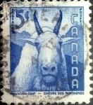 Sellos de America - Canadá -  Intercambio cxrf2 0,20 usd 5 cent 1956