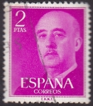 Stamps : Europe : Spain :  franco