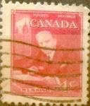 Sellos del Mundo : America : Canadá : 4 cent 1951