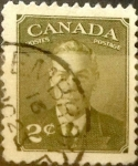 Stamps : America : Canada :  2 cent 1951