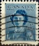 sello : America : Canadá : Intercambio 0,20 usd 4 cent 1948