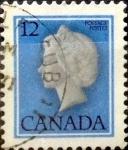 Sellos de America - Canadá -  Intercambio 0,20 usd 12 cent 1977