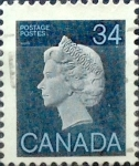 Sellos de America - Canadá -  Intercambio 0,20 usd 34 cent 1985