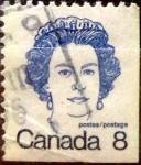 Sellos de America - Canadá -  Intercambio 0,20 usd 8 cent 1973