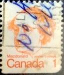 Sellos de America - Canadá -  Intercambio 0,20 usd 1 cent 1973