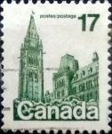 Sellos de America - Canadá -  Intercambio 0,20 usd 17 cent 1979
