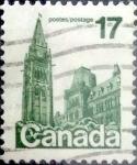 Stamps Canada -  Intercambio 0,20 usd 17 cent 1979