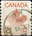 Sellos de America - Canadá -  Intercambio 0,20 usd 32 cent 1983