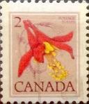 Sellos de America - Canadá -  Intercambio 0,20 usd 2 cent 1977