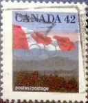 sello : America : Canadá : Intercambio crf 0,20 usd 42 cent 1991