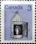 Stamps Canada -  Intercambio 0,20 usd 3 cent 1982
