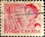 Sellos de America - Canadá -  Intercambio 0,20 usd 4 cent 1967
