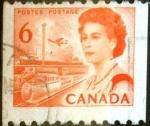 Sellos de America - Canadá -  Intercambio 0,20 usd 6 cent 1967