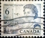 Stamps Canada -  Intercambio 0,20 usd 6 cent 1967
