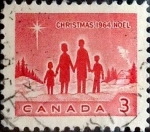 Sellos de America - Canadá -  Intercambio 0,20 usd 3 cent 1964