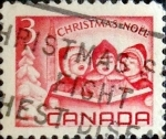 Stamps Canada -  Intercambio 0,20 usd 3 cent 1967