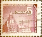 Sellos de America - Canadá -  Intercambio 0,20 usd 5 cent 1966