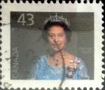 Stamps Canada -  Intercambio nf4xb1 0,20 usd 43 cent 1992