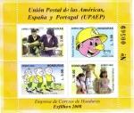 Stamps Honduras -  Unión Postal de Las Américas España y Portugal  (UPAEP)