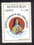 Sellos de America - Honduras -  Santa Teresita del Niño de Jesús