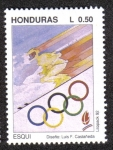 Sellos de America - Honduras -  Esqui