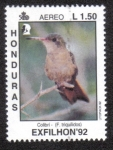 sello : America : Honduras : EXFILHON 92