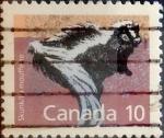 Sellos de America - Canadá -  Intercambio 0,20 usd 10 cent 1988