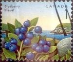 Sellos de America - Canadá -  Intercambio 0,20 usd 1 cent 1992