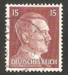 Stamps Germany -  Reich - 713 - Hitler