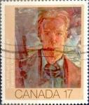 Sellos de America - Canadá -  Intercambio 0,20 usd 17 cent 1981
