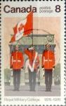 Stamps Canada -  Intercambio 0,20 usd 8 cent 1976