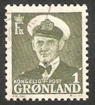 Stamps : Europe : Greenland :  Fréderic IX