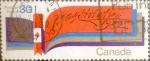 sello : America : Canadá : Intercambio crf 0,20 usd 30 cent 1982