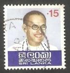Sellos de Asia - Sri Lanka -  Primer Ministro S.W.R.D. Bandaranaike