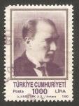 Stamps Turkey -  2653 - Atatürk